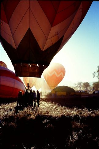 Hot Air Ballooning in New Mexico